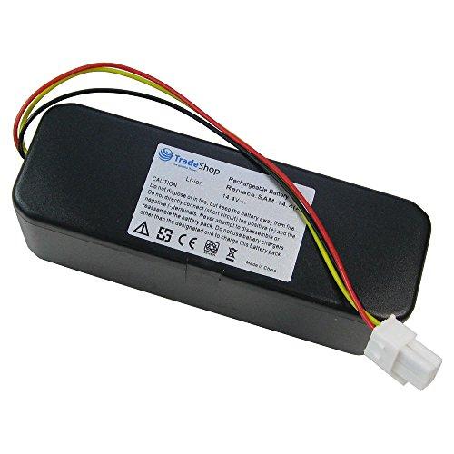 Hochleistungs Li-Ion Akku 14,4V / 5200mAh ersetzt VCA-RBT20 VCARBT20 VCA-RBT-20 für Samsung Navibot SR-8840 SR-8845 SR-8855 SR-8895 VCR-8845 SR-8848 VCR-8855 SR-8990 VCR-8895