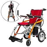 Elektrischer Rollstuhl für die älteren Collapsible tragbaren Lithium-Batterie elektrischen Rollstuhl Intelligent Magnesium-Legierung elektrischen Rollstuhl Behinderten Roller kann im Flugzeug sein