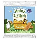 Heinz Reduced Sugar Banana Biscotti, 7 months +, 60g