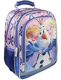 Preisvergleich für Disney Die Eiskönigin 2100002254 Rucksack, 38 cm, Kinder, Blau, Elsa, Anna, Olaf