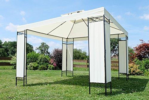 Eleganter Gartenpavillon Pavillon 3x3 Meter Model: 7074-A von AS-S