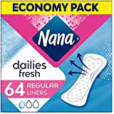 Nana Panty Liners, Normal, Pack of 64