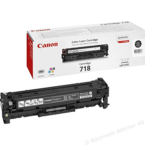 Original Canon i-sensys 718 Bulk Pack Cyan Magenta Yellow Black laser toner cartridge - 2660B002 / 2662B005 / 2659B002 / 2661B002 for LBP7200Cdn / MFC8330 / LBP8350CDN bulk pack - brown box