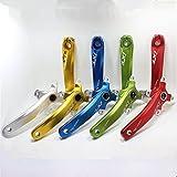Nueva IFX único de aluminio doble para bicicleta MTB–Platos y bielas manivela + brazos y parte inferior soporte