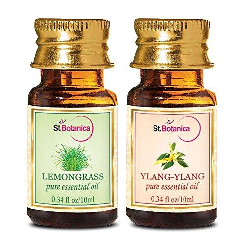 StBotanica Lemongrass + Ylang Ylang Pure Essential Oil