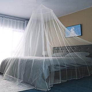 Sekey Moustiquaire pour Lits Simples à Doubles | Protection de d'insecte | Écran de Protection Anti-Insectes | Système d'installation Rapide et Facile