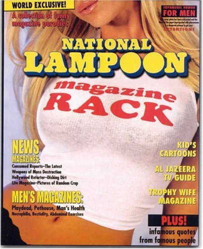National Lampoon Magazine Rack -