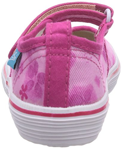 Beck Summertime, Ballerines fermées fille Rose - Pink (pink 06)