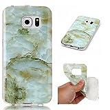 Lomogo [Marble Pattern] Galaxy S6 Edge Case Shockproof...