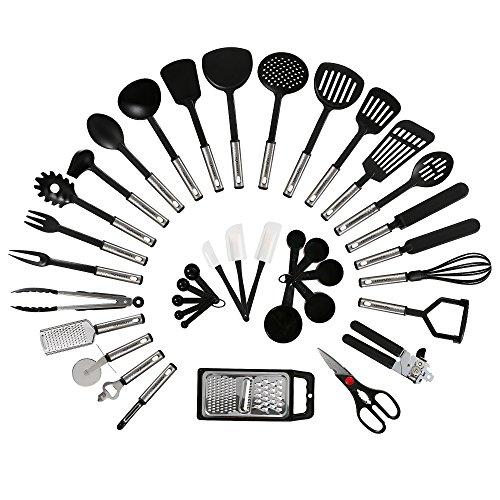nexgadget-premium-38-stucke-sets-von-kochgeschirr-mit-edelstahl-und-nylon-kochen-tools-einschliessli