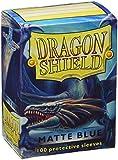 Dragon Shield Standard Sleeves (Matte Blue) - Best Reviews Guide
