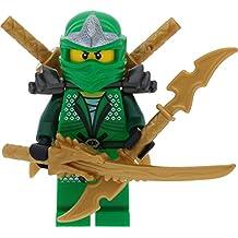 Lego ninjago minifigur gr ner ninja lloyd zx aus set 9450 - Ninjago les 4 armes d or ...