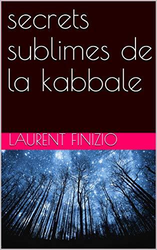 Couverture du livre secrets sublimes de la kabbale