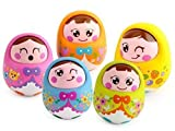 #1: Smartcraft Push and Shake Wobbling Durable Roly Poly Tumbler Doll (Pack of 1)