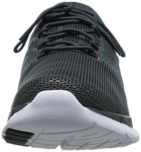 Reebok Zpump Fusion Poliuretano scarpa da running Gravel/Neon Cherry/White