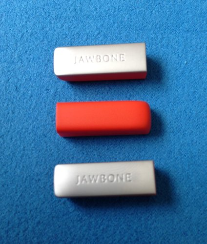 3pcs Persimmon Replacement End Caps Covers for Jawbone UP24 UP-24 Bracelet Band Wristband Wrist Band Armband Caps Dust Protectors (not for the 1st or 2nd Gen) - Cap Gen 2 Lp