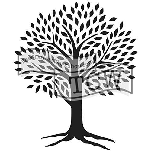 """Bible Journaling Stencil - Tree of Life (6"""" X 9"""")"""
