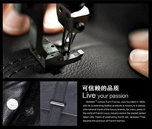 Männliche Tasche Schulter Messenger Portable Briefträger Casual England Dokument Retro Trend Reisen Männer Korean Computer Tasche Black