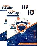 K7 Total Security Anti-Virus Software - 2 User, 1 Year 2016 (CD)