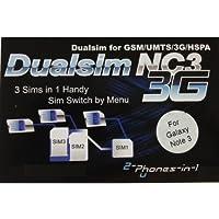 NC3 N3 Adattatore Dualsim Triple Sim per Samsung Galaxy Note