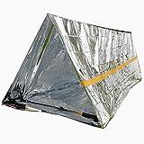 Hilai Tente d'urgence de Survie Tente Simple Tente Temps Froid Abri Tente extérieure...