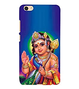 Fuson Designer Back Case Cover for Vivo X7 Plus (Sri Murugan Karthikeya Skanda Subramaniyam Vishnu)