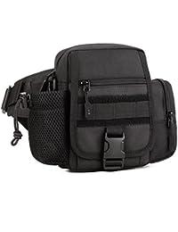 Generic Waterproof Nylon Molle Tactical Fanny Waist Pack Sling Shoulder Bag Utility Hiking Trekking Pouch Pocket...