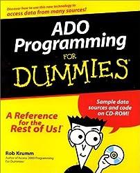 ADO Programming For Dummies (For Dummies (Computers)) by Rob Krumm (2000-11-15)