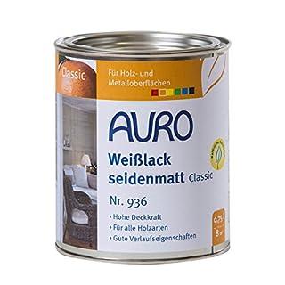 AURO Weißlack, seidenmatt, Classic - 0,75L