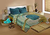 Raymond Social Code Cotton Double Bedshe...