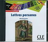 Les lettres persanes - Niveau 2 - Lecture Découverte - CD