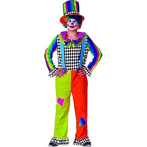 Dress Up America - 771-L - Déguisement de clown auguste pour adulte - Taille 168-193cm