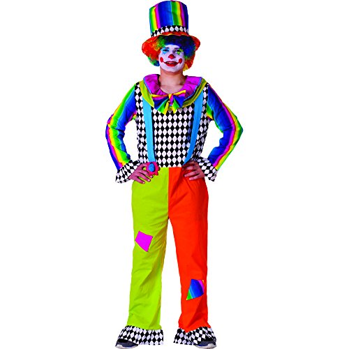 Dress Up America Costume adulto gioviale Clown per uomo