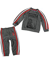 adidas Star Wars Darth Vader Chándal para niños pequeños gris / rojo Talla:3-6 meses (62 cm)