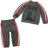 adidas Star Wars Darth Vader Trainingsanzug Kleinkinder Kinder Anzüge & Bodies, grau/rot, 68