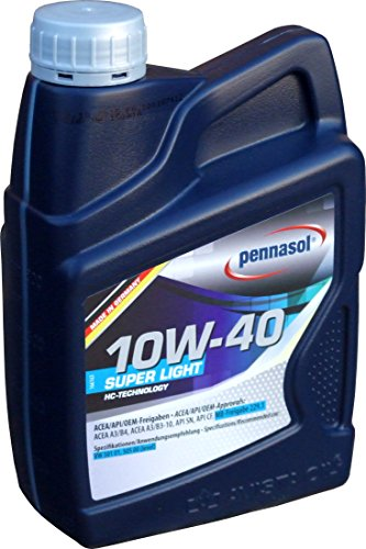 Pennasol Super Light SAE 10W-40 Motoröl, 1 Liter