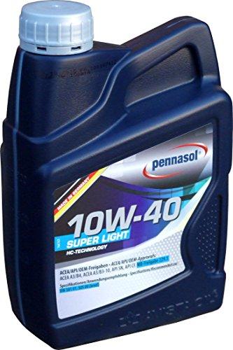 Pennasol Super Light SAE 10W-40 Motoröl, 1 Liter