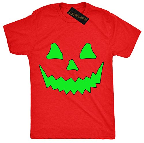 Renowned Halloween - Top - Colletto crew  - Maniche corte - Donna Red 36