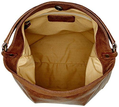 Timberland Tb0m5396, Borsa a Spalla Donna, 15.5x34x37 cm (W x H x L) Marrone (Ginger Bread)
