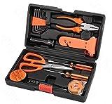 HYCy ® 18 Stücke Multifunktionale Werkzeuge Set Stahl Haushalt Holzbearbeitung Kits Hardware Toolbox Tools Kit