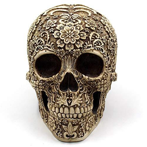 Halloween Richtungen - Yikuo Medizinisches Modell des Menschlichen Schädels