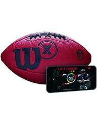 Wilson X Official SZ Football Balón de Fútbol Americano, Unisex Adulto, Marrón, Oficial