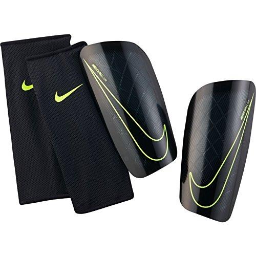 Nike Herren Mercurial Lite Schienbeinschoner, schwarz/Volt, XS