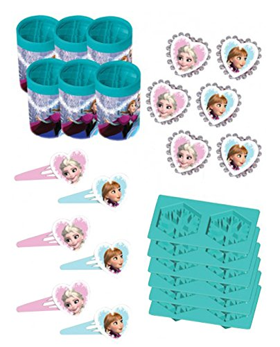 Up Kostüm Frozen Dress - amscan 999268 Partygeschenke-Set, Frozen