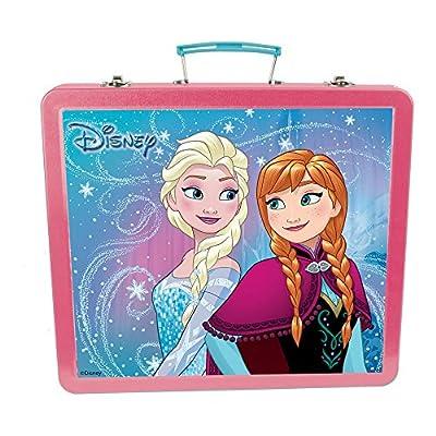 Disney Frozen DARP-CFRO132 Art - Estuche de Lata con Accesorios creativos (60 Piezas) por FROZEN