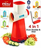 #5: Ritu Drum Shredder And Slicer Multipurpose - 4 in 1 For All Vegitables, Fruits & Chocolates