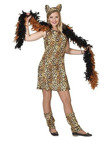 Pierro´s Kostüm Kleid Leopard Bikira Damenkostüm Größe (Themen Dschungel Kostüme Tier)