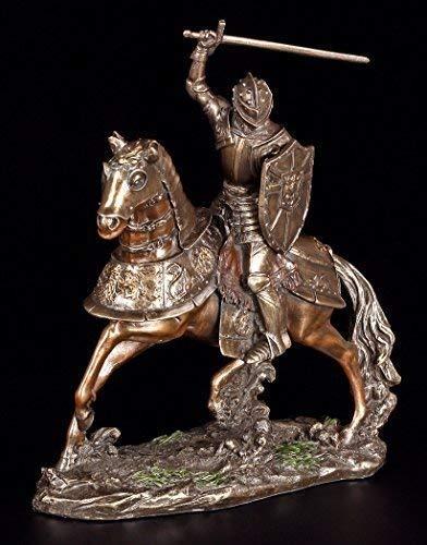 Apokalyptischer Reiter Figur - Blut & Tod | Veronese Statue Ritter