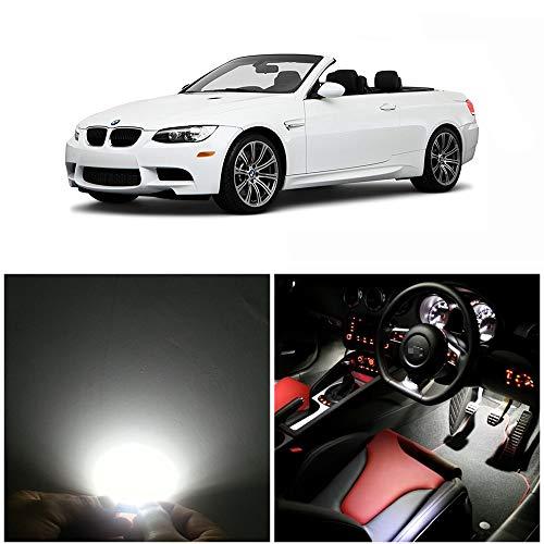 WLJH Kit d'éclairage intérieur LED 17 pièces Série 3 E93 M3 convertible 335i M3 2006-2011