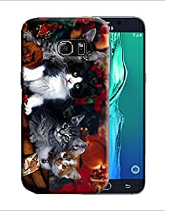 PrintFunny Designer Printed Case For Samsung Galaxy S6 Edge+